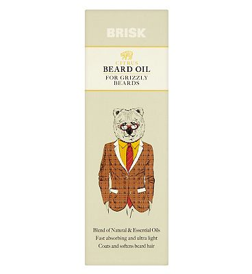 Brisk Citrus Beard Oil 50ml