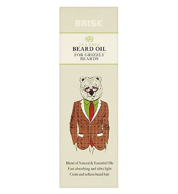 Brisk Tea Tree and Cedar Beard Oil
