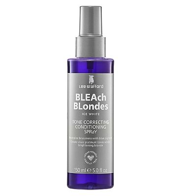Lee Stafford Bleach Blondes Ice White Tone Correcting Conditioning Spray