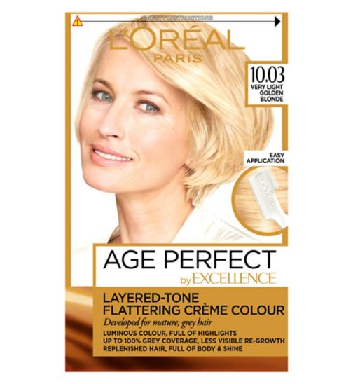 L'Oreal Paris Excellence Age Perfect 10.03 Very Light Golden Blonde