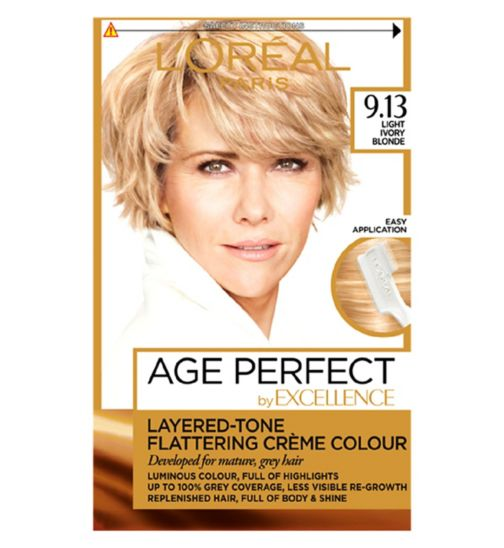 L'Oreal Paris Excellence Age Perfect 9.13 Light Ivory Blonde