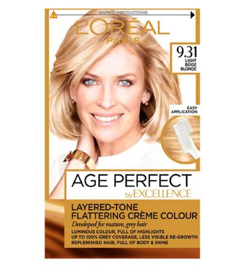 L'Oreal Paris Excellence Age Perfect 9.31 Light Beige Blonde