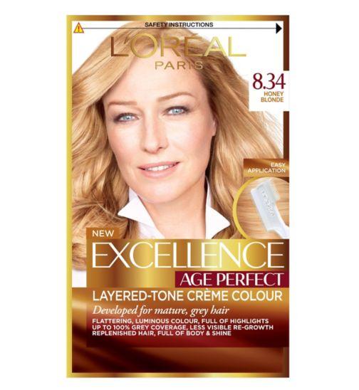 L'Oreal Paris Excellence Age Perfect 8.34 Honey Blonde