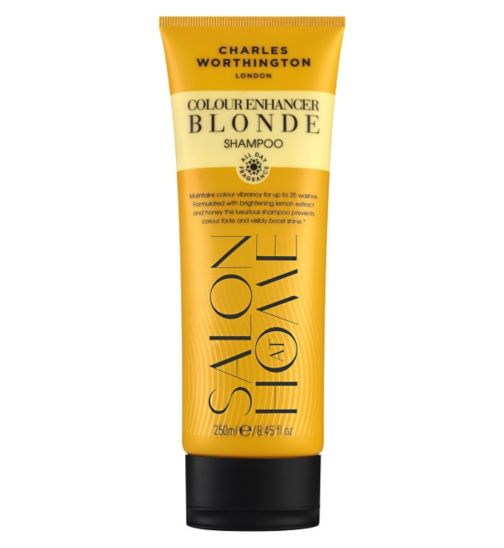 Charles Worthington Colour Enhancer Blonde Shampoo 250ml