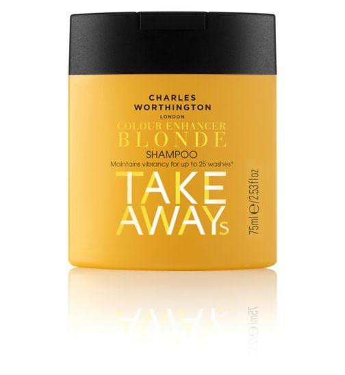 Charles Worthington Colour Enhancer Blonde Shampoo 75ml