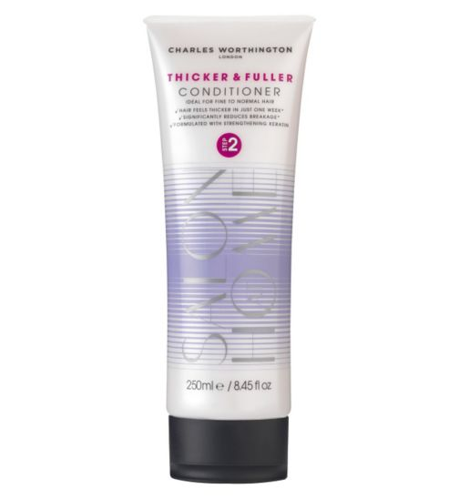 Charles Worthington Thicker and Fuller Conditioner 250ml