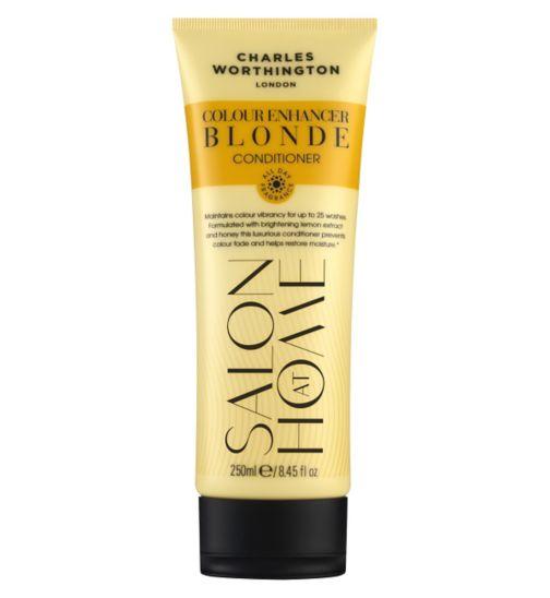 Charles Worthington Colour Enhancer Blonde Conditioner 250ml