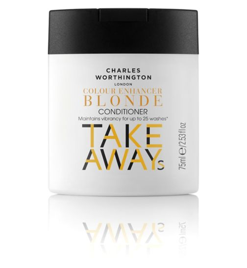 Charles Worthington Colour Enhancer Blonde Conditioner 75ml