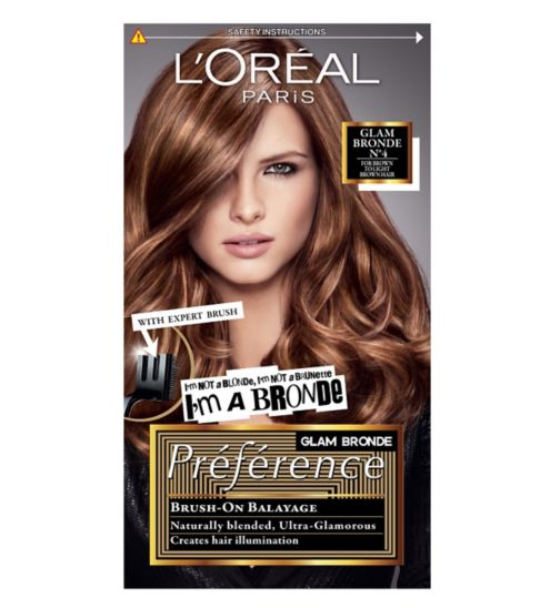Preference Glam Bronde 04 Brown Permanent Hair Dye