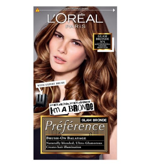 Preference Glam Bronde 05 Dark Brown Permanent Hair Dye