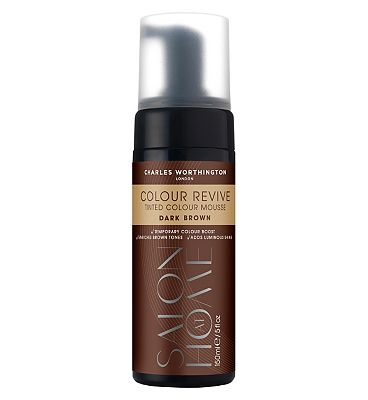Charles Worthington Colour Revive Mousse Dark Brown