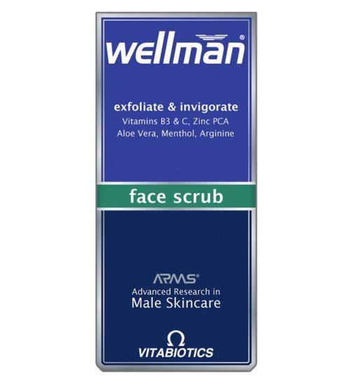 Wellman Exfoliate and Invigorate Face Scrub 75ml