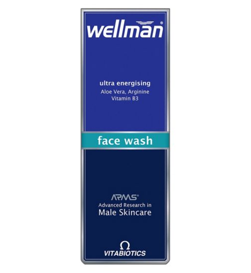 Wellman Ultra Energising Face Wash 125ml