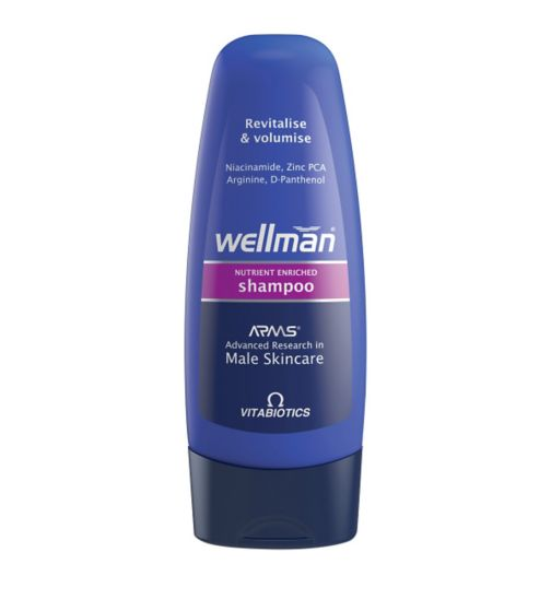 Wellman Revitalise and Volumise Shampoo 250ml