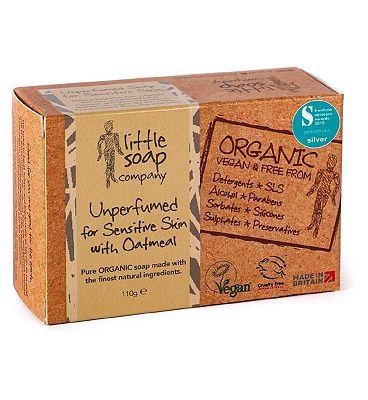 Little Soap Company Unperfumed Soap for Sensitive Skin 110g