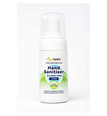 EcoHydra Alcohol Free Antibacterial Foam Hand Sanitiser 100ml