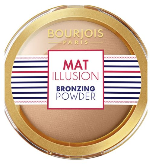 Bourjois Mat Illusion Bronzing powder Hale Clair