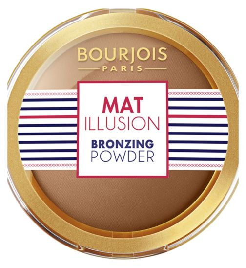 Bourjois Mat Illusion Bronzing powder Hale Fonce
