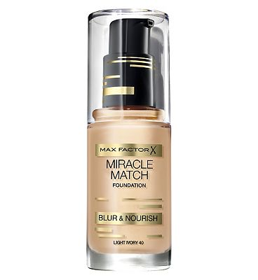 Max Factor Miracle Match foundation 30ml Sand