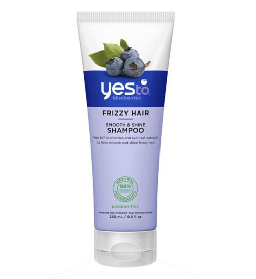 Yes to Blueberries Smooth & Shine Shampoo 280 ml for Frizzy Hair