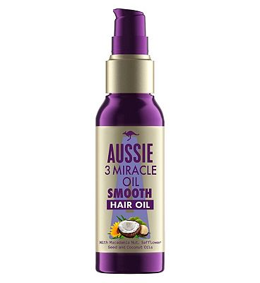 Aussie 3 Miracle Oil Mega for Normal to Fine Hair 100ml