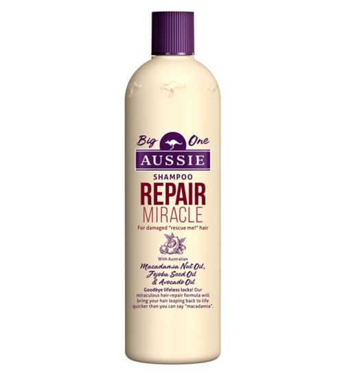 Aussie Shampoo Repair Miracle for All Kinds of Naughty Hair 500ml