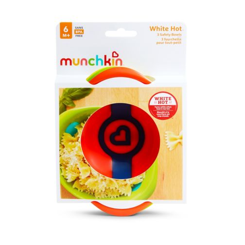 Munchkin 3 White Hot Bowls 6m+