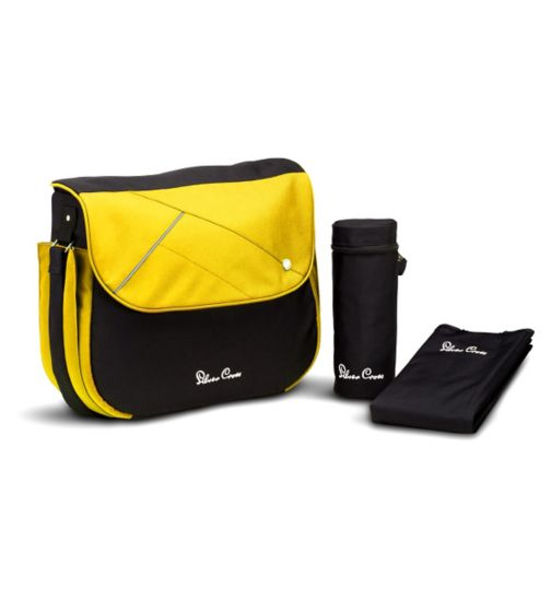 Silver Cross Surf & Wayfarer Changing Bag - Yellow