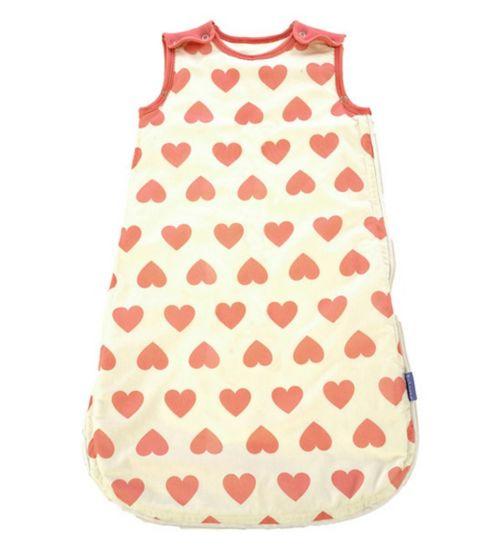 Heart Babasac Sleeping Bag 0-6 months