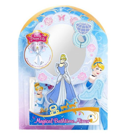 Disney Princess Cinderella Colour Change Bath Time Mirror