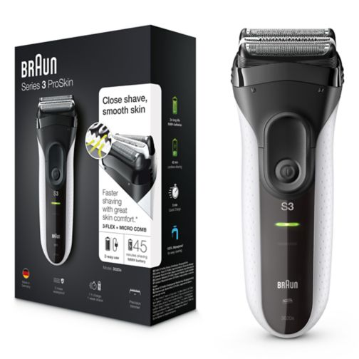 Braun Series 3 3020s Shaver - Exclusive to Boots