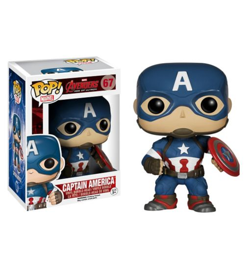 POP! Vinyl Captain America Collectible Figure