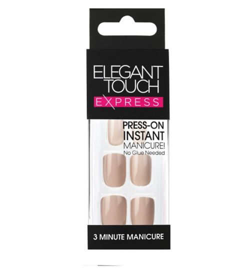 Elegnt Touch Express Polished Nails - Dirty Nude