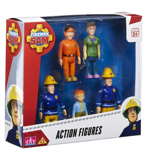 Fireman Sam 5 figure pack