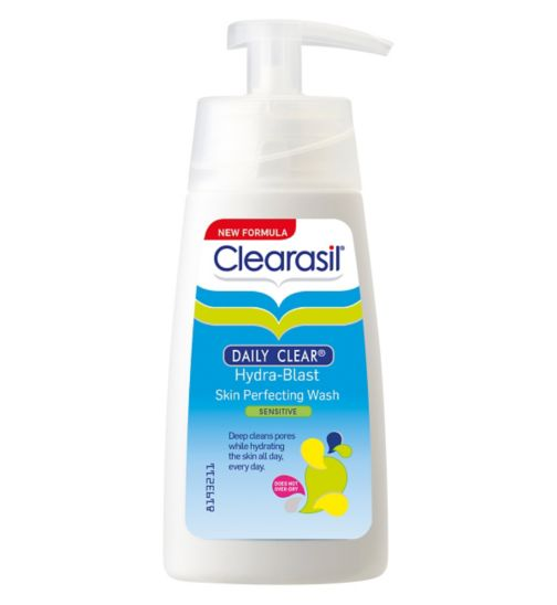 Clearasil Daily Clear Hydra-Blast Skin Perfecting Wash Sensitive