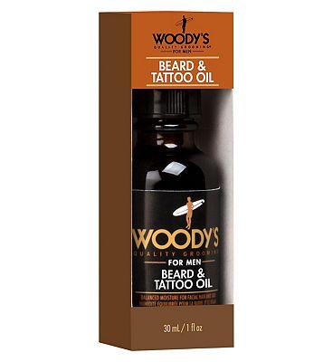 Woody's beard and tattoo oil 30ml