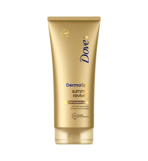 Dove DermaSpa Summer Revived Fair - Med Lotion 200ml
