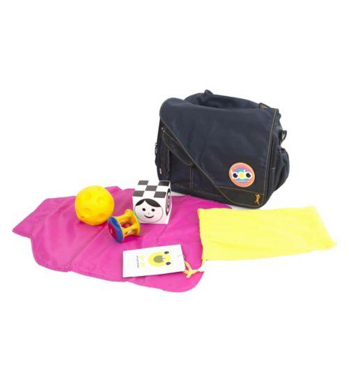 BOB Bag - Blue/Pink