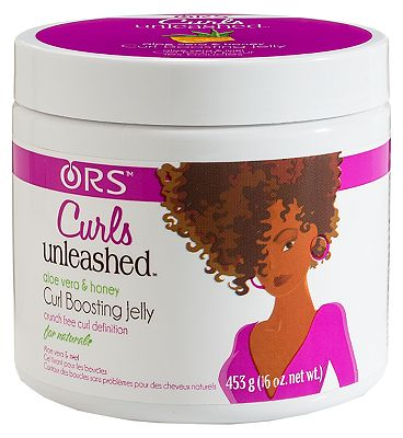ORS Curls Unleashed Aloe Vera & Honey Curl Boosting Jelly 453.6g