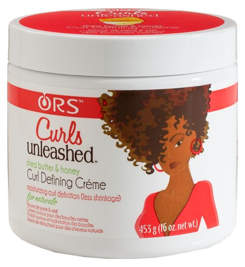 ORS Curls Unleashed Shea Butter & Honey Curl Defining Crème 453.6g