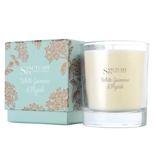 Sanctuary Winter Jasmine & Myrrh Candle