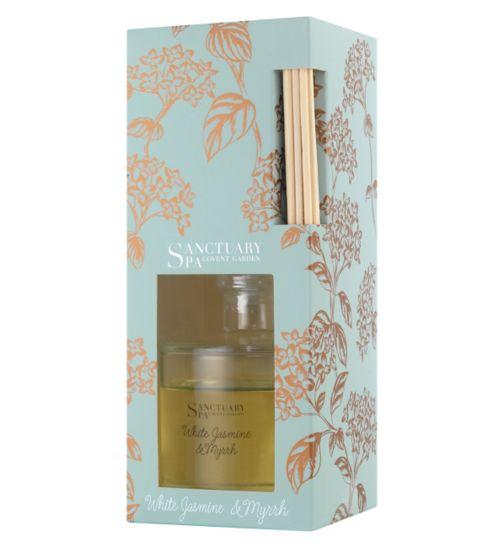 Sanctuary Spa Home Fragrance diffiuser winter jasmine and myrrh 100ml