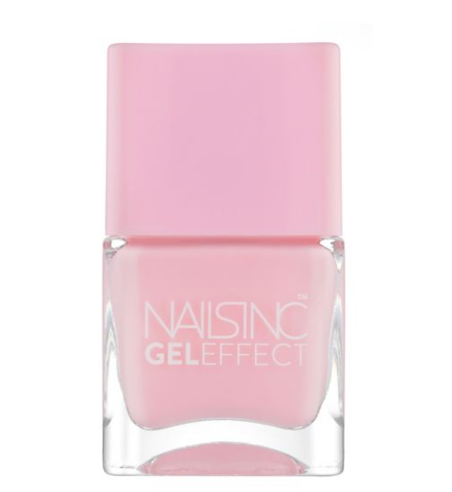 Nails Inc Gel Effect Chiltern Street in Baby Pink 14ml