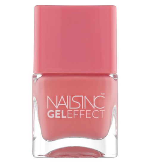 Nails Inc Gel Effect Old Park Lane in Punchy Pink 14ml