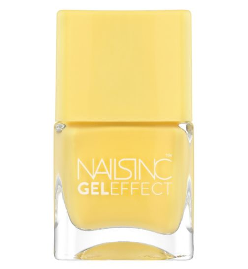 Nails Inc Gel Effect Seven Dials in Vibrant Yellow 14ml