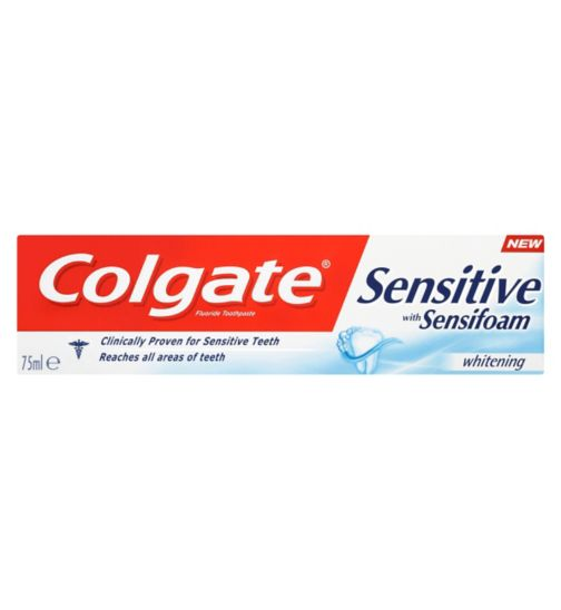 Colgate Sensitive Sensifoam with Whitening 75ml