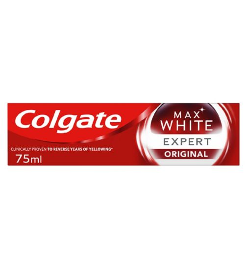 Colgate Max White Expert Cool Mint Whitening Toothpaste 75ml
