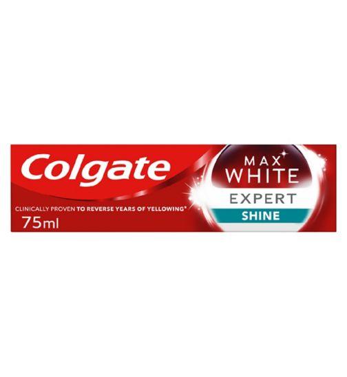 Colgate Max White Expert White Soft Mint Toothpaste 75ml