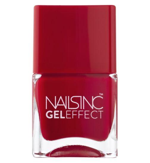 Nails Inc Gel Effect St James Pillar Box Red 14ml