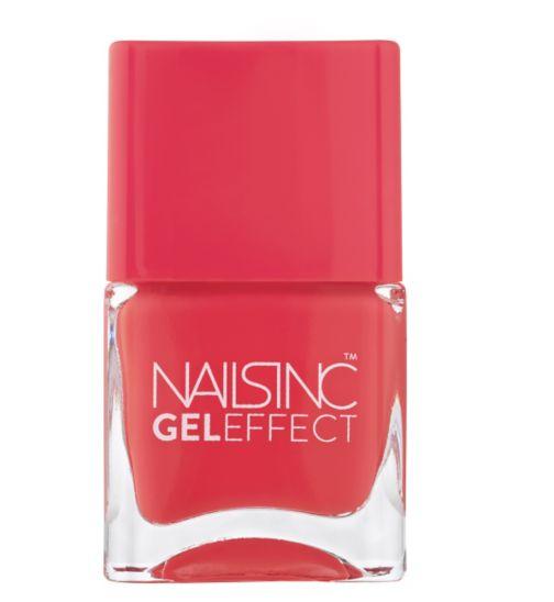Nails Inc Gel Effect Kensington Passage Coral 14ml